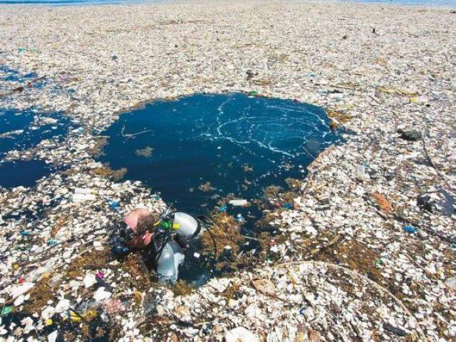 microplastico en el mar
